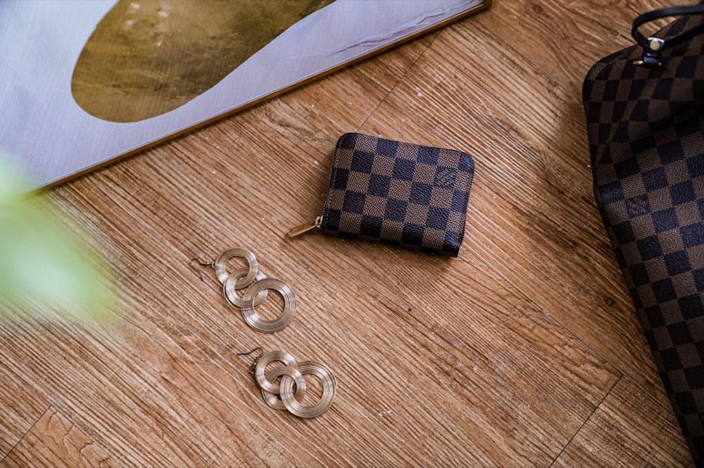Louis Vuitton拉鍊零錢包